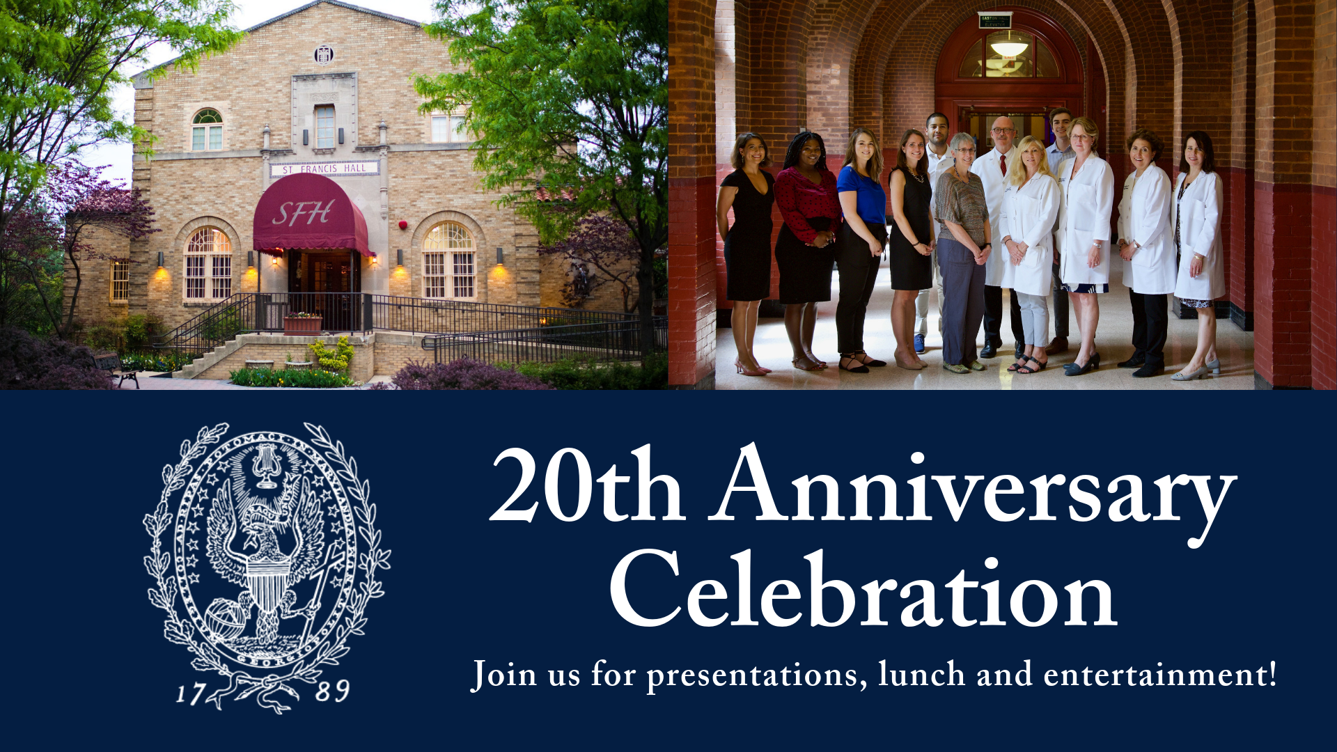 20th Anniversary Celebration on October 17, 2019.