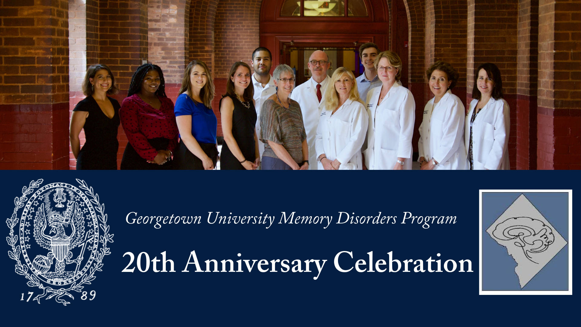 A photo of the Georgetown University Memory Disorders Program